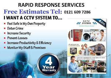 cctv monitoring installation systems west midlands